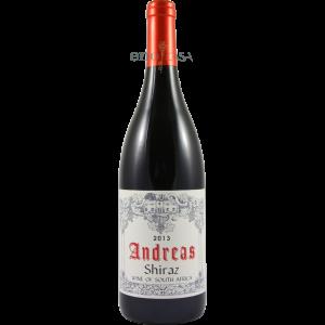 Der Andreas Shiraz aus Wellington Südafrika ist ein ausgezeichneter Rotwein.
