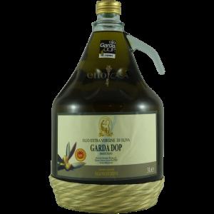 Das Manestrini Garda D.O.P vom Gardasee ist schon lange kein italienischer Geheimtipp mehr. Hier bestellen Sie 3 Liter des hervorragenden grünen Goldes.