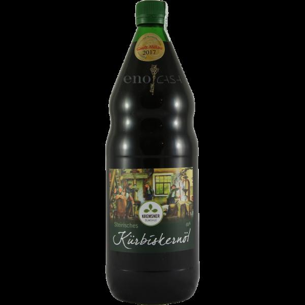 Es ist immer gut, solch ein prämiertes steirisches Kürbiskernöl aus der Steiermark im Haus zu haben.