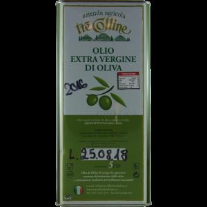 Aus diesen Kanistern haben wir das tolle Olivenöl abgefüllt.