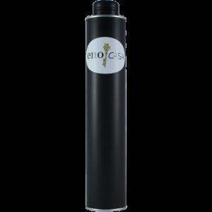500 ml Steirisches Kürbiskernöl abgefüllt in unseren beliebten schwarzen schmalen Dosen mit Ausgießer.