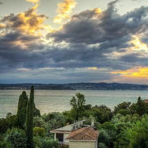 Vom Gardasee kommt das milde Olivenöl Terra e Sole 500 ml.